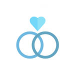 feiern-blau-ringe-weisser-kreis