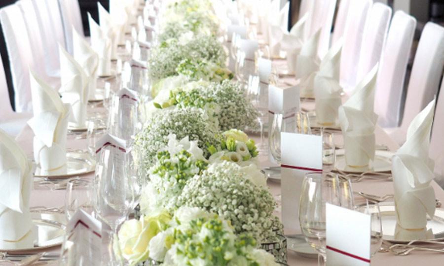 Hochzeit Blumendeko