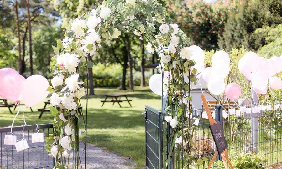 Hochzeitslocation Berlin Villa Schuetzenhof Festsaal Hochzeitssaal