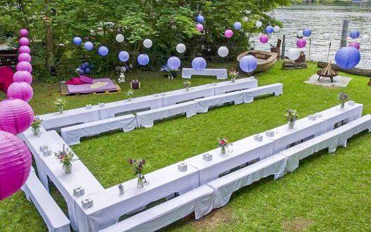 Bootshaus – Garten