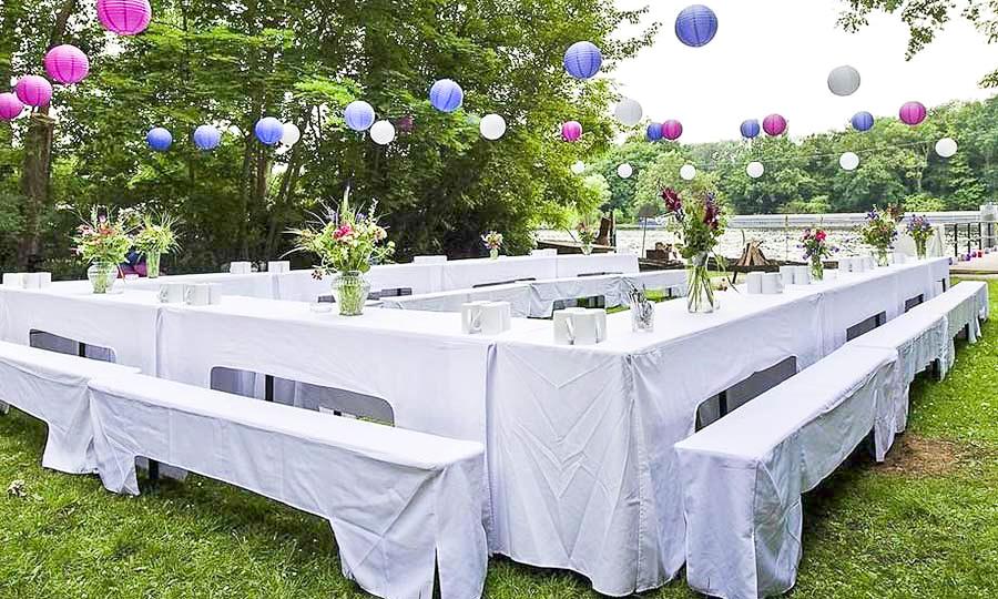 Hochzeitslocation Berlin Bootshaus Zelt Festzelt Garten Hochzeit Im