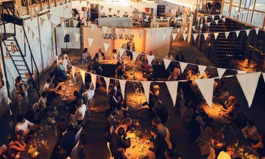 Hochzeitslocation Berlin Kaos Off Location Industrial Stil