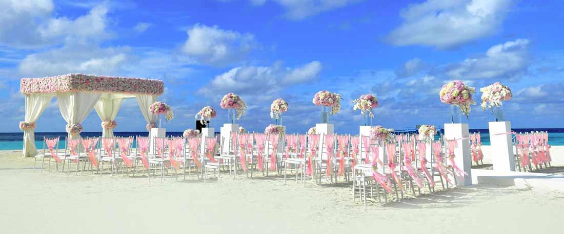 Heiraten Am Strand Hochzeit Am Strand Freie Trauung Hochzeitsdeko